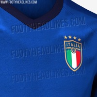 Se filtra la posible camiseta local de Italia para el Mundial 2018